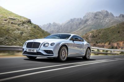 Bentley Continental GT 2015 (officiel)