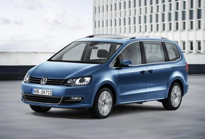 Volkswagen Sharan restylé 2015 (officiel)