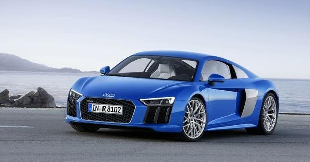 Audi R8 2015 (officiel)