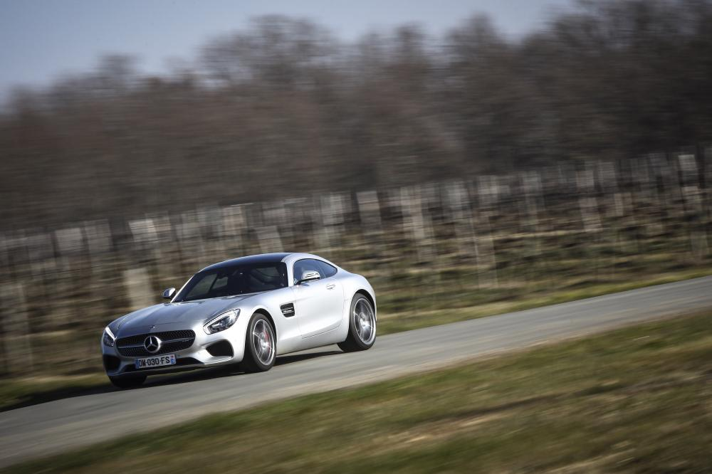Mercedes-AMG GT S (essai)