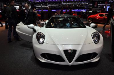 Alfa Roméo 4C spyder