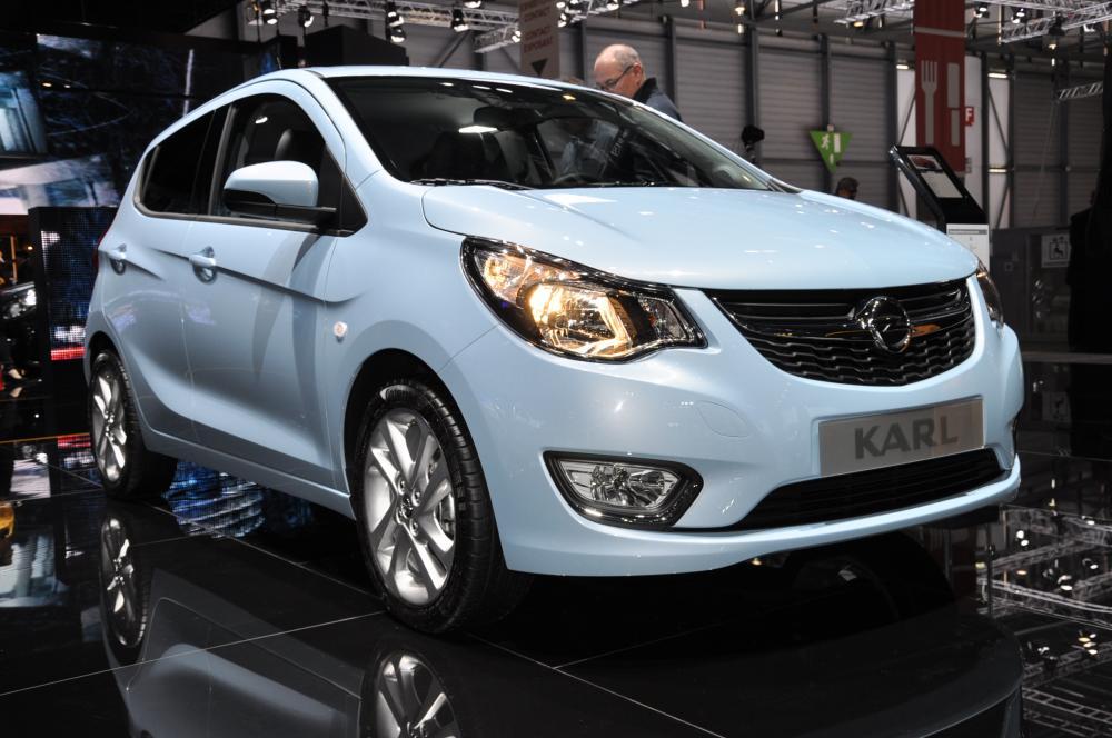 Albums Photos Opel Karl Autonews