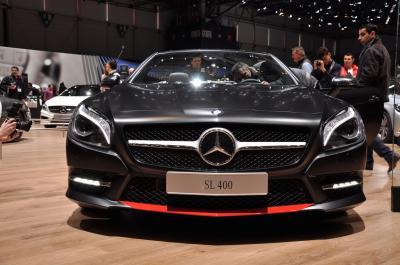Mercedes SL400 Mille Miglia