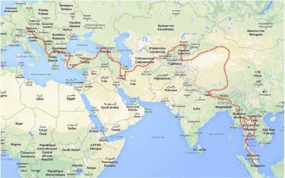 De « Singa à Minga » un « raid » de 23 000 km et de 6 mois