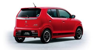 Suzuki Alto Turbo RS (officiel)