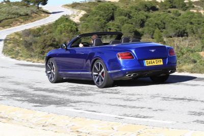 Bentley Continental GTC V8S Convertible
