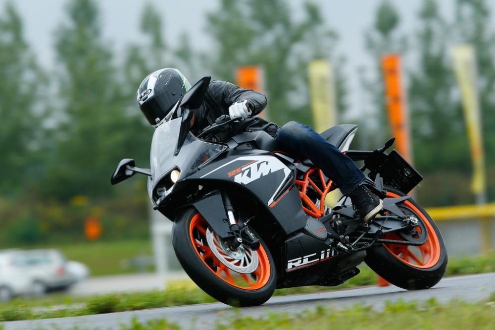 Essai KTM RC 125