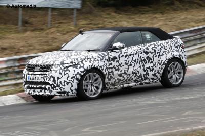 Range Rover Evoque Cabriolet (Spyshots - 2015)