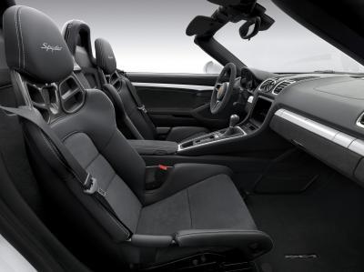 Porsche Boxster Spyder (2015)