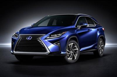 Lexus RX (Salon de New-York 2015)