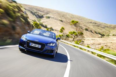 Audi TT Roadster 2015 (essai)