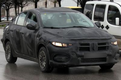 Fiat Linea (Spyshots - 2015)