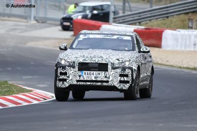 Jaguar F-Pace (Spyshots - 2015)