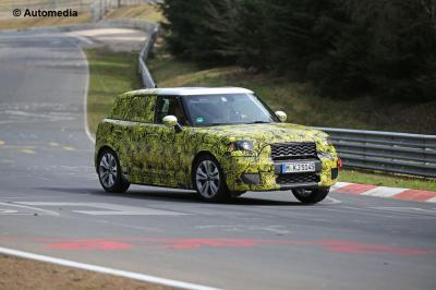 Mini Countryman (Spyshots 2017)
