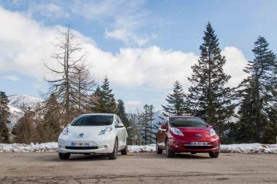 Nissan Leaf 2.0 (Col de Turini - 2015)