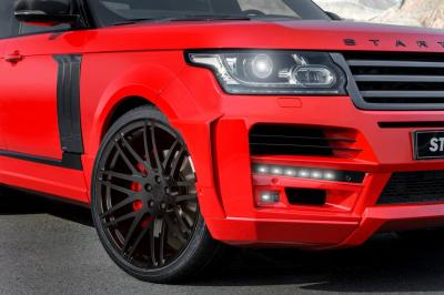 Range Rover pick-up par Startech (officiel)