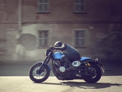 Nouvelle Yamaha XV950 Café Racer : la Bolt à bracelets arrive !