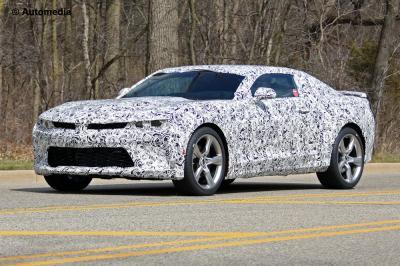 Chevrolet Camaro SS 2016 (spyshots)