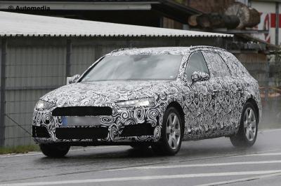 Audi A4 Avant 2016 (spyshots)