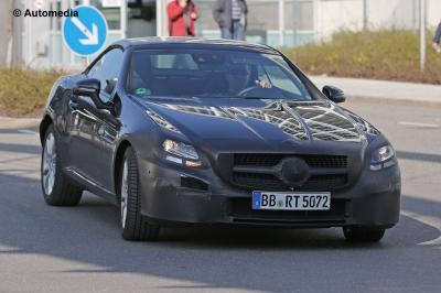 Mercedes SLC (2016 - spyshots)