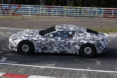 Aston Martin DB11 2017 (spyshots - avril 2015)