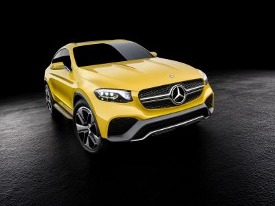 Mercedes GLC Coupé Concept (officiel)