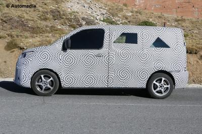 Citroën Jumpy (Spyshots - avril 2015)