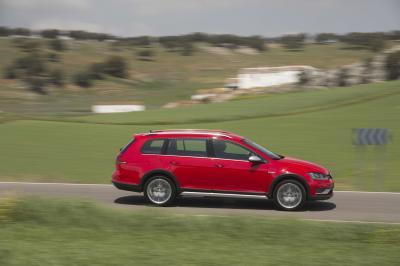 Volkswagen Golf Alltrack TDI 184 DSG (2015 - essai)