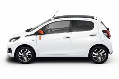 Peugeot 108 Roland Garros (officiel - 2015)