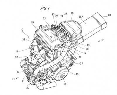 Suzuki : un brevet pour la Recursion à moteur turbo