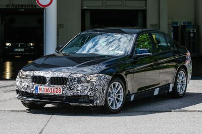 BMW Série 3 restylée (avril 2015)