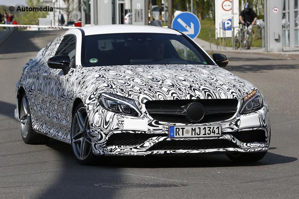 Mercedes C63 AMG Coupé (mai 2015)
