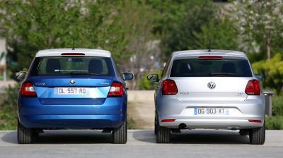 Essai comparatif Skoda Fabia TSI Ambition VS Volkswagen Polo TSI Cup