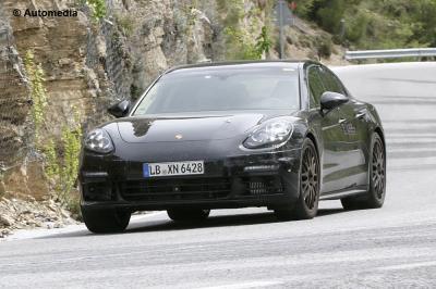 Porsche Panamera Hybrid (2017 - spyshots)