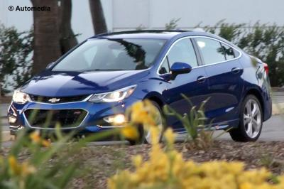 Chevrolet Cruze (2016 - spyshots)