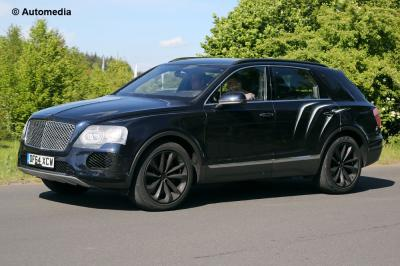 Bentley Bentayga (mai 2015)