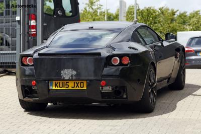 Aston Martin DB11 2017 (spyshots - mai 2015)