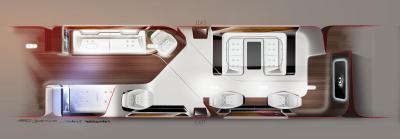 Cabine de bord Mercedes Lufthansa