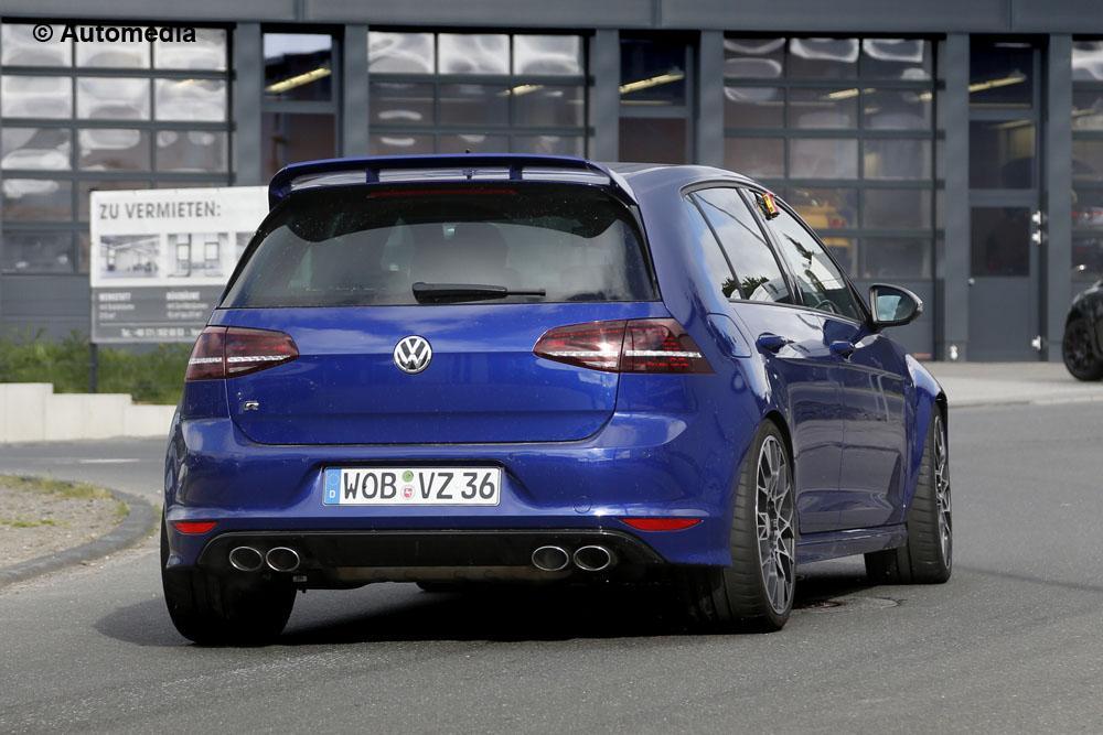 Volkswagen Golf R400 (spyshots - mai 2015)