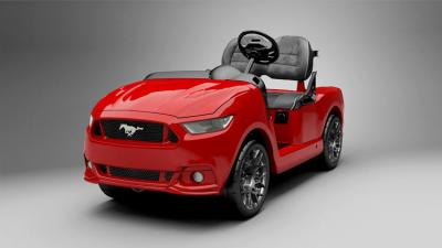 Voiturette de golf Ford Mustang