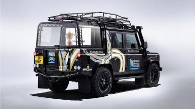 Land Rover Defender Wagon 110 Rugby World Cup Trophy Tour