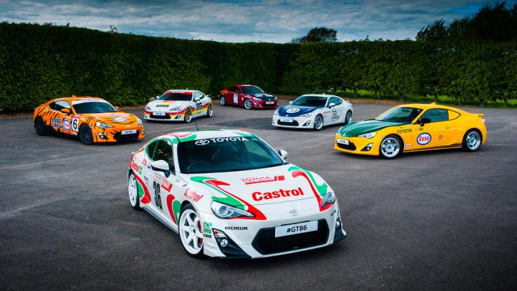 "Toyota GT86 ""rétro"" Festival of Speed 2015 (officiel)"