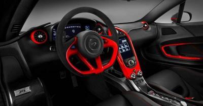 McLaren P1 MSO rouge et noire (officiel)