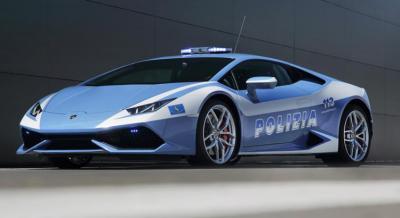 10 voitures de police insolites