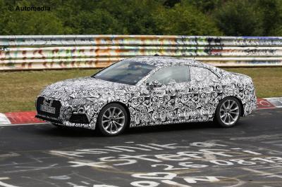 Audi A5 2017 (juin 2015 - spyshots)