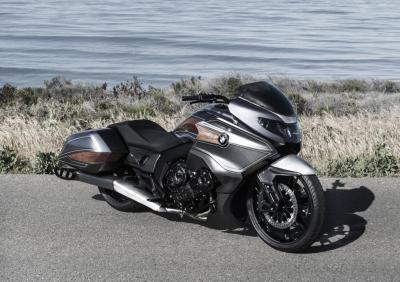 BMW Concept 101 : un bagger à la Villa d'Este