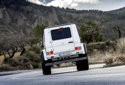 Mercedes G 500 4x4² 2015 (officiel)