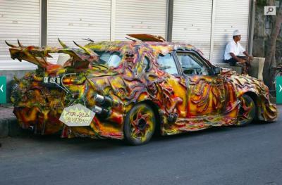 Les 10 voitures tuning les plus folles