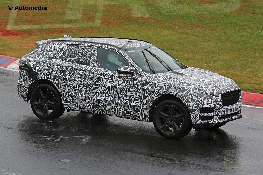 Jaguar F-Pace (juin 2015 - spyshots)