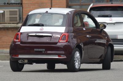 Fiat 500 restylée